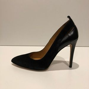 New IRO Pointy Toe Suede & Leather Pumps